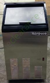Norpole 65 lbs EWCIM65S Ice Maker with Storage
